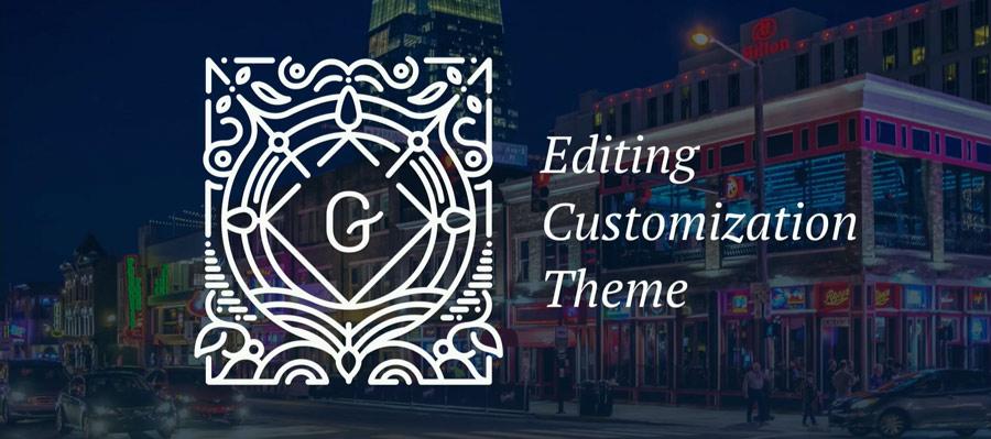 Grafik: Die drei Themen für 2018 sind Gutenberg Editing, Customization und Themes